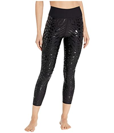 Ultracor Sprinter High Lux Panthera Leggings (Nero/Patent Nero) Women