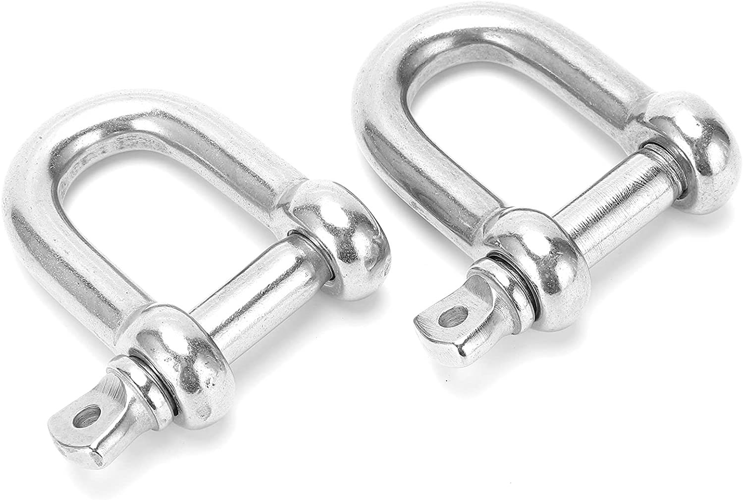Straight Large Minneapolis Mall discharge sale D Shackle M12 D‑Shackle Stainle