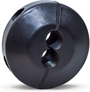 Coxreels 635 Medium Pressure Dual Hose Ball Stop for Spring Driven Reel,Black 3/8