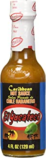El Yucateco Caribbean Hot Sauce with Habanero Chilli 120ml