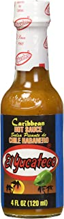 El Yucateco Sauce Hot Habanero Caribb , 4 oz, Pack of 3