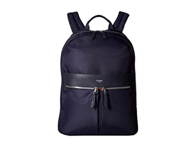 KNOMO London Mayfair Beauchamp Backpack (Dark Navy) Backpack Bags
