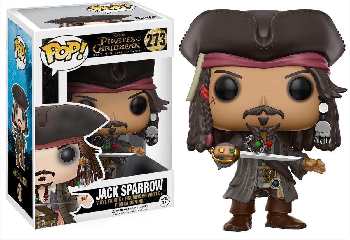 Funko Pop!- Jack Sparrow Figura de Vinilo, colección de Pop, seria Pirates 5 (12803): Funko Pop! Disney:: Amazon.es: Juguetes y juegos