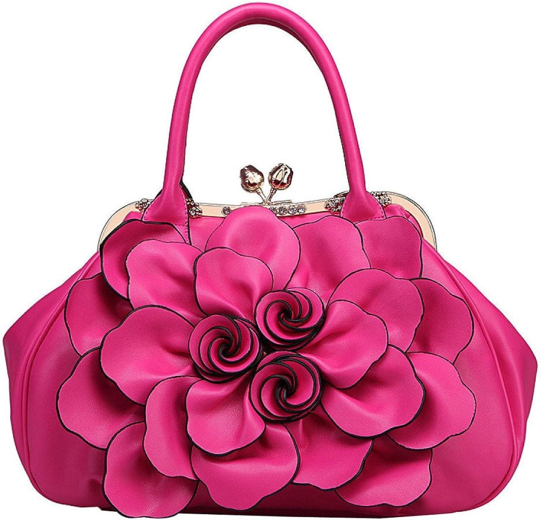 Handtasche Frauen Frauen Frauen Rosa Tote, Mode Wilde Farbe Crossbody Tasche, Elegante Persönlichkeit PU Tote 39  38  14CM Lila B07NPL28BW  Guter weltweiter Ruf bf34f9