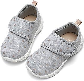 Toddler Girl Shoes Cute Lightweight Walking Sneakers