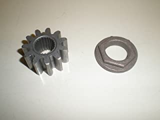 Rotary Pinion Gear & Bushing Replaces MTD Cub Cadet 717-1554 917-1554 941-0656A 741-0656A