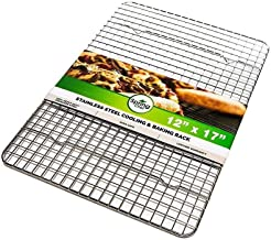 DGJ 304 Stainless Steel Cooling Rack for Cooking, 30cm X 42cm Wire Rack for Baking, Drying, Grilling, Baking Tools and Accessories dgj521