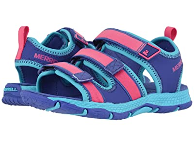Merrell Kids Hydro Creek (Toddler/Little Kid/Big Kid) (Purple/Multi) Girl