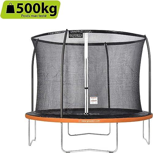 barato y de moda GREADEN trampolín trampolín trampolín de jardín rojoondo Freestyle+  100% a estrenar con calidad original.