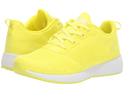 BOBS from SKECHERS Bobs Squad Glow Rider (Neon Yellow) Women