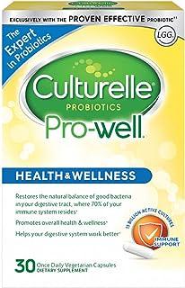 Culturelle 康萃乐 Pro-Well 每日益生菌膳食补充剂 恢复有益菌的自然平衡 有效的益生菌 30粒素食胶囊
