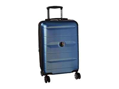 Delsey Comete 2.0 Expandable Spinner Carry-On (Steel Blue) Carry on Luggage
