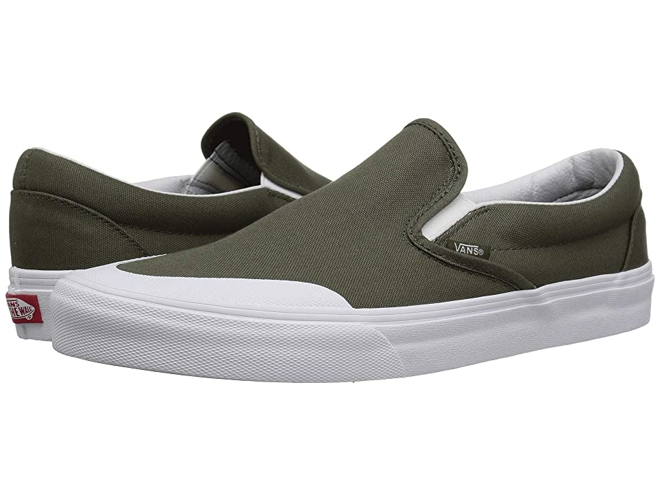 Vans UA Classic Slip-On 138 ((Canvas) Grape Leaf) Athletic Shoes