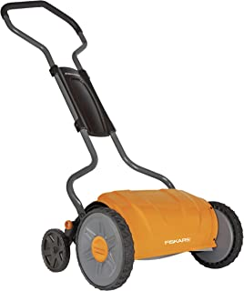 Fiskars 17 Inch Staysharp Push Reel Lawn Mower (6208)