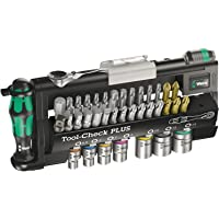 Wera 056490 Tool-Check Plus Bit Ratchet Set with Sockets