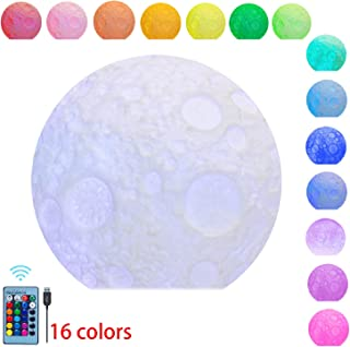 Large Sensory Moon Light with Remote Colour Changing LED Relaxing Light