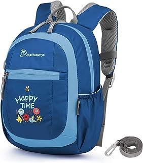 MOUNTAINTOP - Mini mochila infantil (5 L, 24 x 31 x 14,5 cm), azul (Azul) - CK6031Aganglan