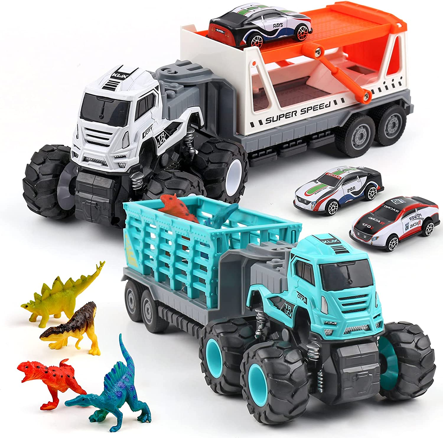 XQW Truck Carrier Toy Branded goods Cheap sale Car Set with Transport