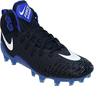 Mens Force Savage Pro Football Cleats Black/White/Game Royal 880144 014