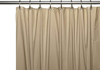 Hotel Collection Heavy Duty Mold & Mildew Resistant Premium PEVA Shower Curtain Liner with Rust Proof Metal Grommets - Assorted Colors (Linen)