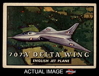 1952 Topps # 111 707A Delta Wing (Card) Dean`s Cards 5 - EX