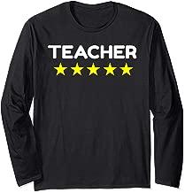 Five Star ESL Teacher Uniform Gift Shirts English Online Long Sleeve T-Shirt