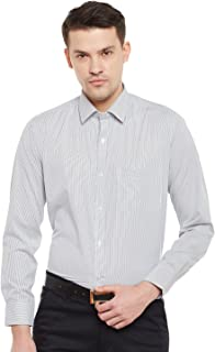 Lamode Men's Stripe Black Stripe Formal Shirt