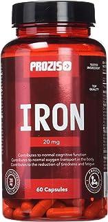Prozis Iron, Hierro - 20 mg, 60 cápsulas