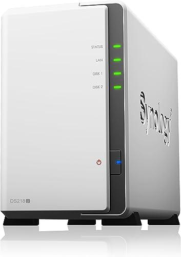 Synology DiskStation DS218J, White