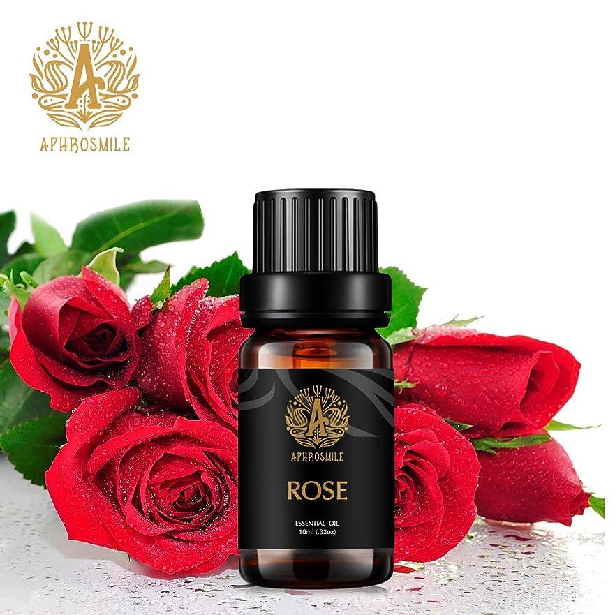 おめでとうジャベスウィルソングリットローズエッセンシャルオイル、100%ピュアアロマセラピーエッセンシャルオイルローズの香り、肌に栄養を与え、治療用グレードエッセンシャルオイルローズの香り、為にディフューザー、マッサージ、加湿器、デイリーケア、0.33オンス-10ml