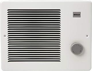 Broan-NuTone 174, White Painted Grille Wall Heater, 750/1500 Watt 120 VAC