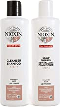 Nioxin System 3 Duo Pack, Cleanser 300ml and Scalp Therapy Revitalising Conditioner 300ml