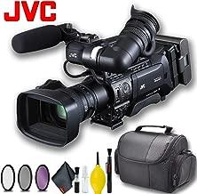 JVC GY-HM850U ProHD Compact Shoulder Mount Camera with Fujinon 20x Lens Basic Bundle