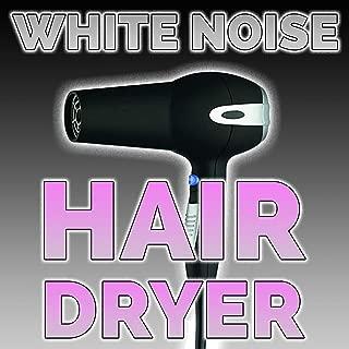 White Noise Hair Dryer
