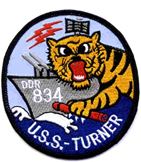 USS Turner DDR-834 Destroyer Radar Picket Ship Patch
