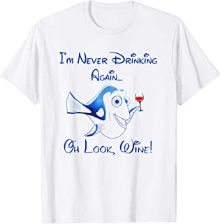 I'm never drinking again, oh look, Wine funny woman t shirt