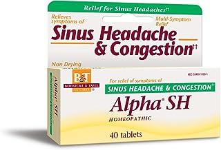 Boericke and Tafel Alpha SH Sinus Headache, 40 Count