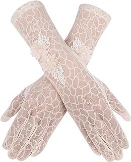 Bienvenu Summer Women Lady Outdoor Uv Protection Gloves Mittens