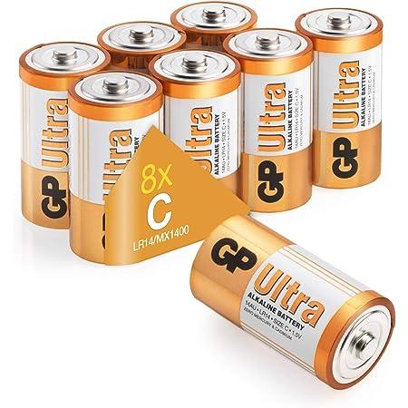 Gp Batteries Ultra Alkaline C Batteries Superb Elektronik