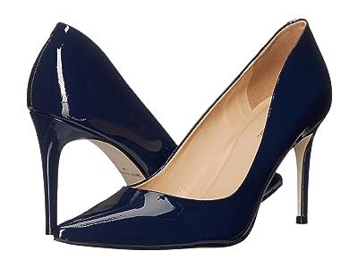 Massimo Matteo 90 mm Pointy Toe Pump (Azul Patent) Women