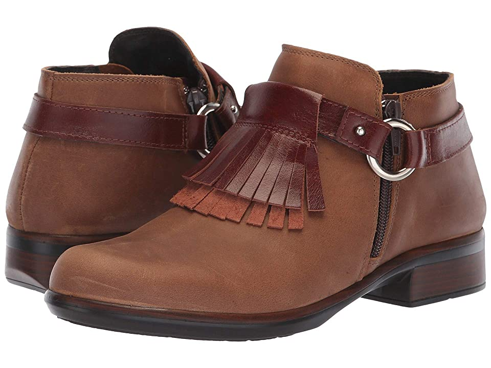 Naot Meltemi (Saddle Brown Leather/Luggage Brown Leather) Women