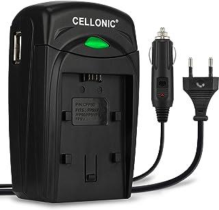 CELLONIC® Cargador MH-24 Compatible con Nikon D5600 D5500 D5300 D5200 D5100 D3500 D3400 D3300 D3200 D3100 DF CoolPix P7800 P7700 P7100 P7000 EN-EL14 Cable Coche Corriente