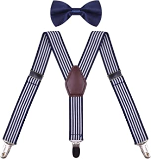 suspender with bow