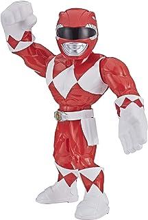 Power Rangers- Mega Mighties Ranger Rojo, Color (Hasbro B07V41K7KL)