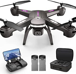 GPS Drone with 4K Camera for Adults, Dual Camera 5G WiFi FPV Live Video Drone 40mins Flight...