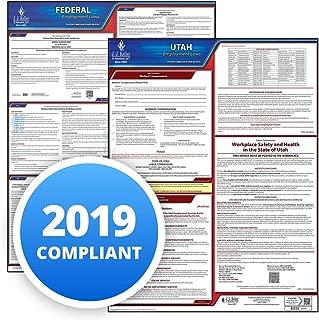 2019 Utah & Federal Labor Law 2-Poster Set, OSHA Compliant UT State (20