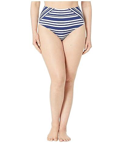 JETS SWIMWEAR AUSTRALIA Vista High-Waist Bottoms (Blue/White) Women