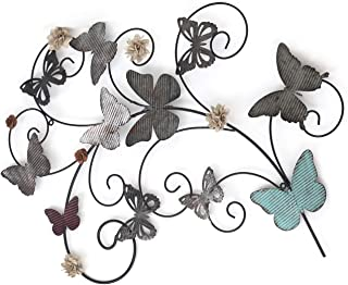 Home's Art Flower Urban Design Metal Wall Decor for Nature Decoration & Kitchen..