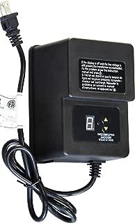 Khan 200w Landscape Lighting Transformer for Outdoor use with Sensor and Timer Program Low Voltage 12V Output Power Pack KH-200T