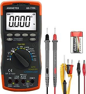 Digital Multimeter Voltmeter Amperemeter Messgerät Tester Strommesser Ohmmeter